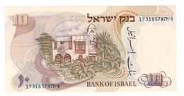 ISRAEL 10 Lira 1968 Pick 35C UNC - Israel