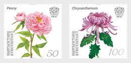 Kirgizië / Kyrgyzstan - Postfris / MNH - Complete Set Botanisch Congres 2017 - Kirgizië