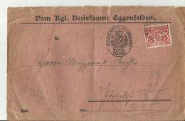 BAYER CV Bezirksamt Eggenfelden Dienstmarke - Bavaria