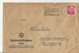 DR CV 1938 SST KASSEL - Storia Postale