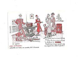 Buvard Gaz De France  Le Coke De Gaz De France - Buvards, Protège-cahiers Illustrés