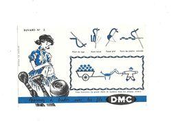 Buvard  Fil à Coudre D.M.C.  N° 2 - Buvards, Protège-cahiers Illustrés