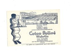 Buvard   Coton Polivé Wuhrlin - Blotters