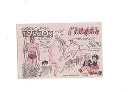 Buvard   B.D.  Tarzan Et L'Intrépide  Arthur Et Zoé - Blotters