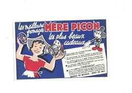 Buvard  Mére Picon Les Meilleurs Fromages - Buvards, Protège-cahiers Illustrés