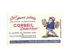 Buvard  Pâtes Alimentaires Corbeil  Cordon Rouge - Buvards, Protège-cahiers Illustrés