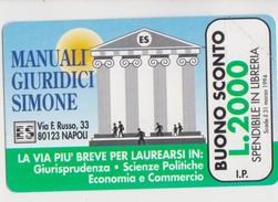 MANUALI GIURIDICI SIMONE BUONO SCONTO £ 2000 - Italia
