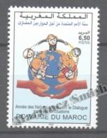 Maroc - Morocco 2001 Yvert 1300, Dialogue Between Civilization  - MNH - Morocco (1956-...)