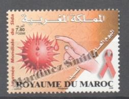 Maroc - Morocco 2006 Yvert 1429, Fight Against AIDS - MNH - Marruecos (1956-...)