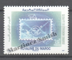 Maroc - Morocco 2007 Yvert 1463, World Post Day - MNH - Marruecos (1956-...)