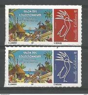 NOUVELLE CALEDONIE (New Caledonia)- Timbre Personnalisé - OPT - 2017 - Salon Collectionneurs Nouméa - New Caledonia