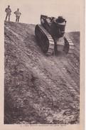 Carte 1920 CHAR RENAULT DESCENDANT UNE PENTE RAPIDE - Ausrüstung