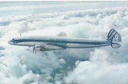 "Carte 1970 AIR FRANCE / LOCKHEED ""SUPER CONSTELLATION"" : Appareil Long Courrier Rapide Et Luxueux - 1946-....: Moderne"