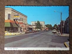 Pentwater Michigan Pharmacy Drugstore Street The Cars - Etats-Unis
