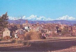Népal        H10        Langtang Range , And Bhaktapur - Népal