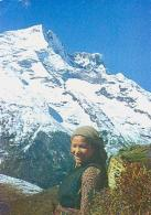 Népal        H19        Faces Of Népal.Sherpa Girl - Népal