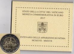 ** VATICAN 2017 - 2 EURO COMMERATIVE APPARIZIONE DI FATIMA - PIECE NEUVE - SOUS COFFRET ** - Vatican