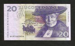 SWEDEN - Bank Of SWEDEN - 20 Kronor - S. Lagerlof - Sweden