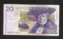 SWEDEN - Bank Of SWEDEN - 20 Kronor - S. Lagerlof - Svezia