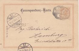 Autriche Entier Bregenz 1895, Scan R/V. - Entiers Postaux