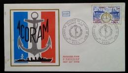 FDC 1976 - YT N°1874 - OFFICIERS DE RESERVE DE L'ARMEE DE MER - PARIS - 1970-1979