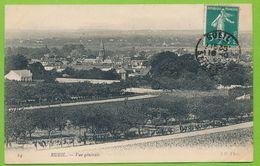 RUEIL - Vue Générale Carte Circulé 1909 - Rueil Malmaison