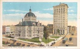 LEXINGTON FAYETTE CO COURT HOUSE AND FAYETTE NATIONAL BANK BLDG - Lexington