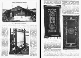 LES TAPIS DE KAIROUAN ( TUNISIE )    1906 - Tappeti & Tappezzeria