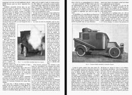 L'ARTILLERIE AUTOMOBILE    1906 - Transports