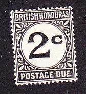British Honduras, Scott #J2, Mint Hinged, Postage Due, Issued 1923 - British Honduras (...-1970)