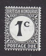 British Honduras, Scott #J1, Mint Hinged, Postage Due, Issued 1923 - British Honduras (...-1970)