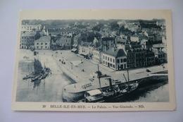 CPA 56 MORBIHAN BELLE ILE EN MER. Le Palais Vue Générale Le Palais. - Belle Ile En Mer