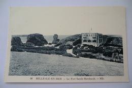 CPA 56 MORBIHAN BELLE ILE EN MER. Le Fort Sarah Bernhardt. - Belle Ile En Mer