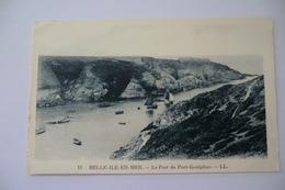 CPA 56 MORBIHAN BELLE ILE EN MER. Le Port De Port Goulphar. - Belle Ile En Mer