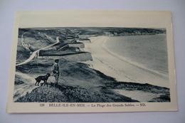 CPA 56 MORBIHAN BELLE ILE EN MER. La Plage Des Grands Sables. - Belle Ile En Mer