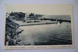 CPA 56 MORBIHAN BELLE ILE EN MER. Le Palais Entrée Du Port. - Belle Ile En Mer