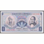 TWN - COLOMBIA 404e6 - 1 Peso Oro 7.8.1974 UNC - Colombia