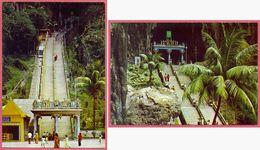 Collection-Malaysia (UNC) Old 1965-75 KUALA LUMPUR 2xBatu Caves - The Murugan Temple - KRUGER  101_015+016 S ABDUL - CPM - Malaysia