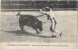 Courses De Taureaux - Suerte De Banderillas - Pose De Bandevilles - Corrida
