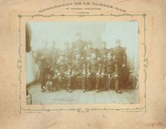 Photographie - 3ème Compagnie Du 92ème Régiment D'infanterie, Classe 1905 - Clermont-Ferrand - Uniforme, Baïonnettes - Guerre, Militaire