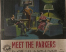 """33 T    Boitier De 3 Disques  """"  English  By  Radio  """"  Meet  The  Parkers - Sonstige"""