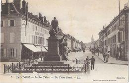 Saint-Dié - La Rue Thiers - Saint Die
