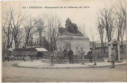 Verdun - Monument De La Défense De 1870 - Verdun
