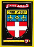 SAINT AYGULF Blason Adhésif (Kroma N° 564) Var (83) - Saint-Aygulf