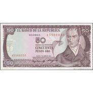 TWN - COLOMBIA 425a2 - 50 Pesos Oro 1.1.1985 UNC - Colombia