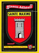 SAINTE MAXIME Rare Blason Adhésif (Kroma N° 464) Var (83) - Sainte-Maxime