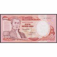 TWN - COLOMBIA 426b2 - 100 Pesos Oro 1.1.1986 UNC - Colombie