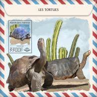 Togo 2017 Turtles Fauna Turtle S/S TG17522 - Briefmarken