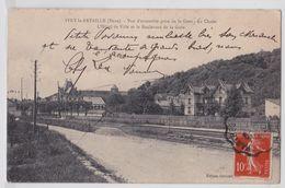 IVRY-LA-BATAILLE - Vue D'ensemble Prise De La Gare - Le Chalet - Ivry-la-Bataille