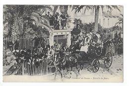 CANNES  (cpa 06)   Carnaval De Cannes  - Bataille De Fleurs -   - L 1 - Cannes